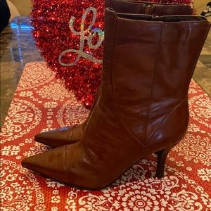 Nine West brown boots